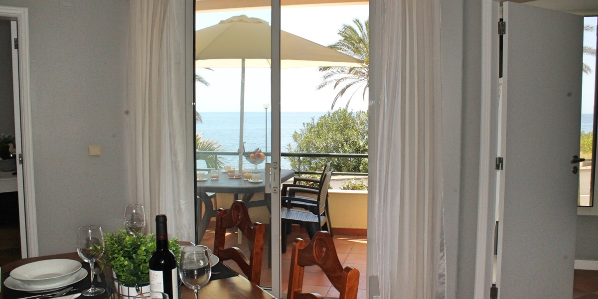 9 Our Madeira Atlantic View Dining Area Balcony And View