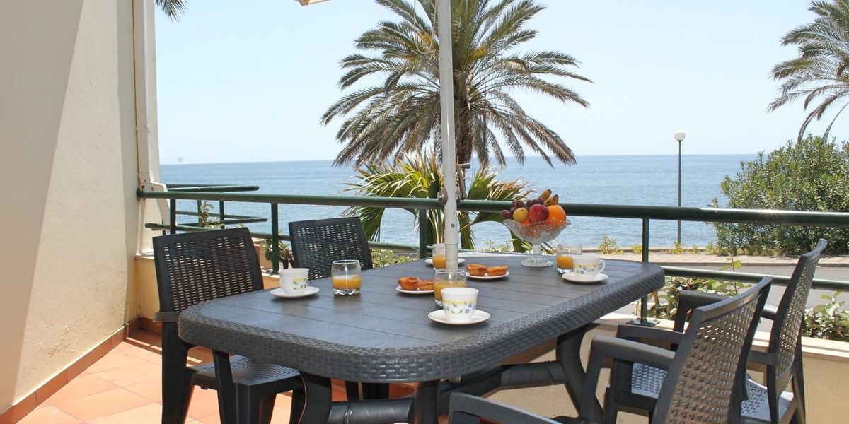 15 Our Madeira Atlantic View Outdoor Dining Balcony View