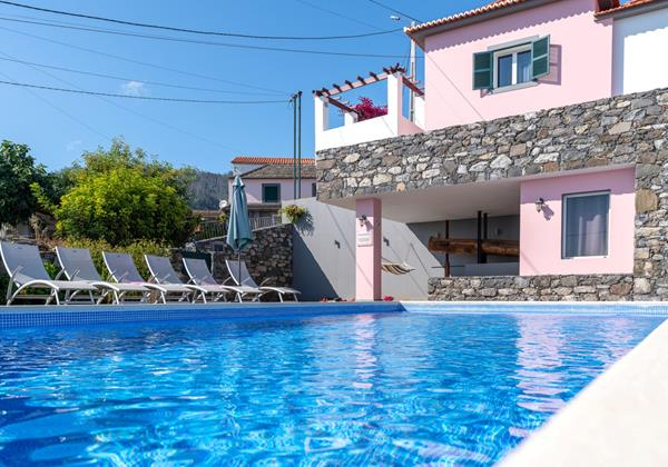 Our Madeira - Villas in Madeira with Pool - Casa Das Orquideas