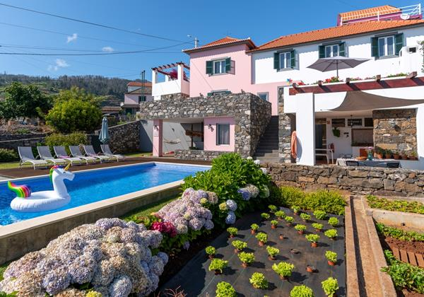 Our Madeira - Villas in Madeira with Private Pool - Casa Das Orquideas