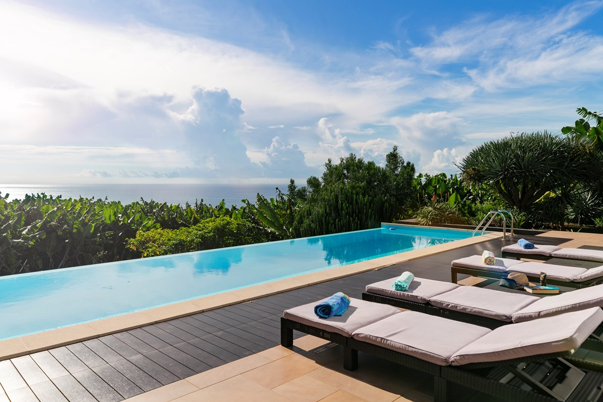 1 Our Madeira Designhouse Pool And View