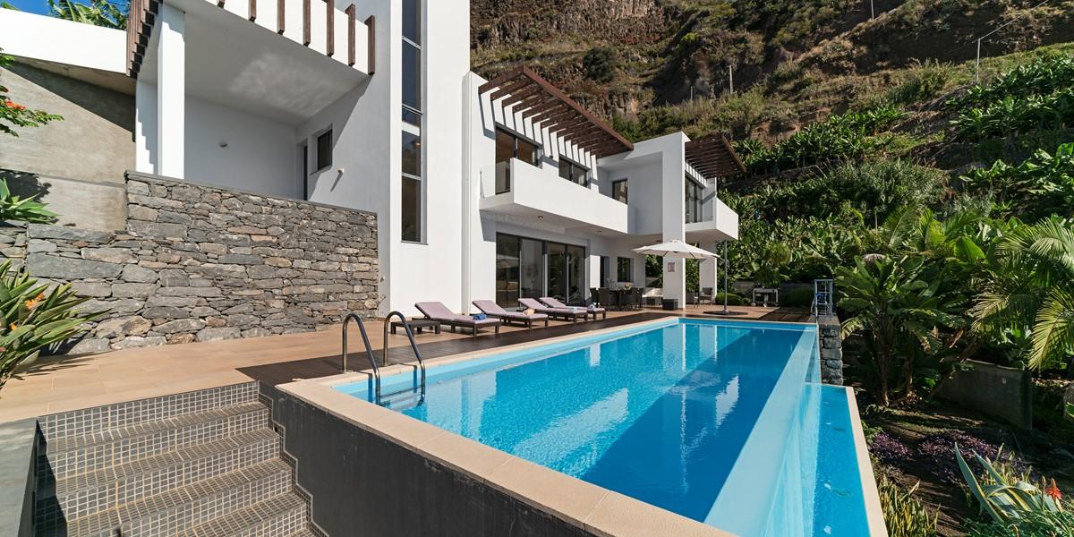 2 Our Madeira Designhouse Facade And Pool