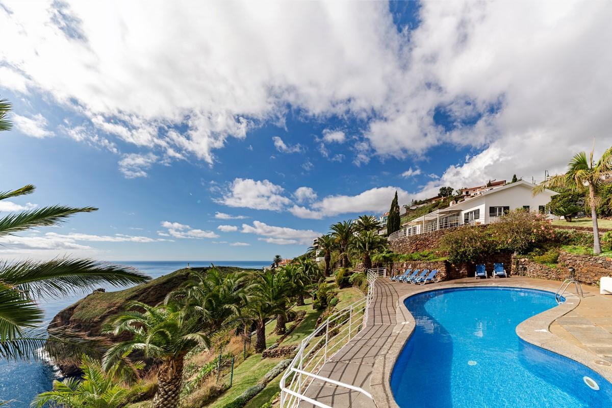 1 Our Madeira Villa Da Falesia Pool