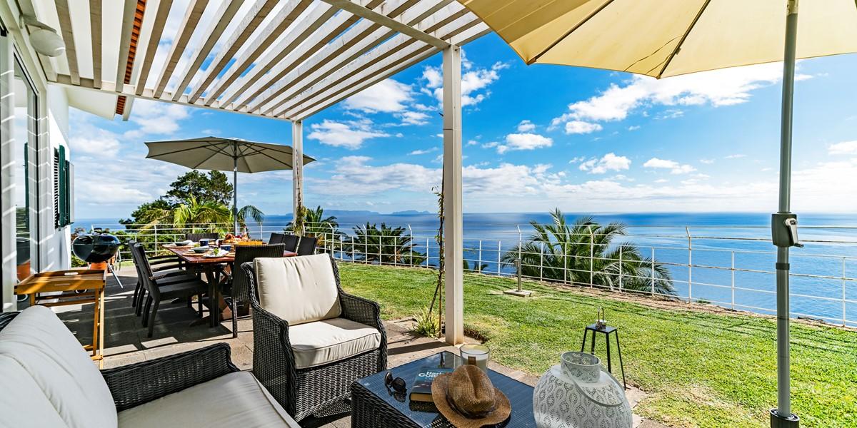 4 Our Madeira Villa Da Falesia Balcony