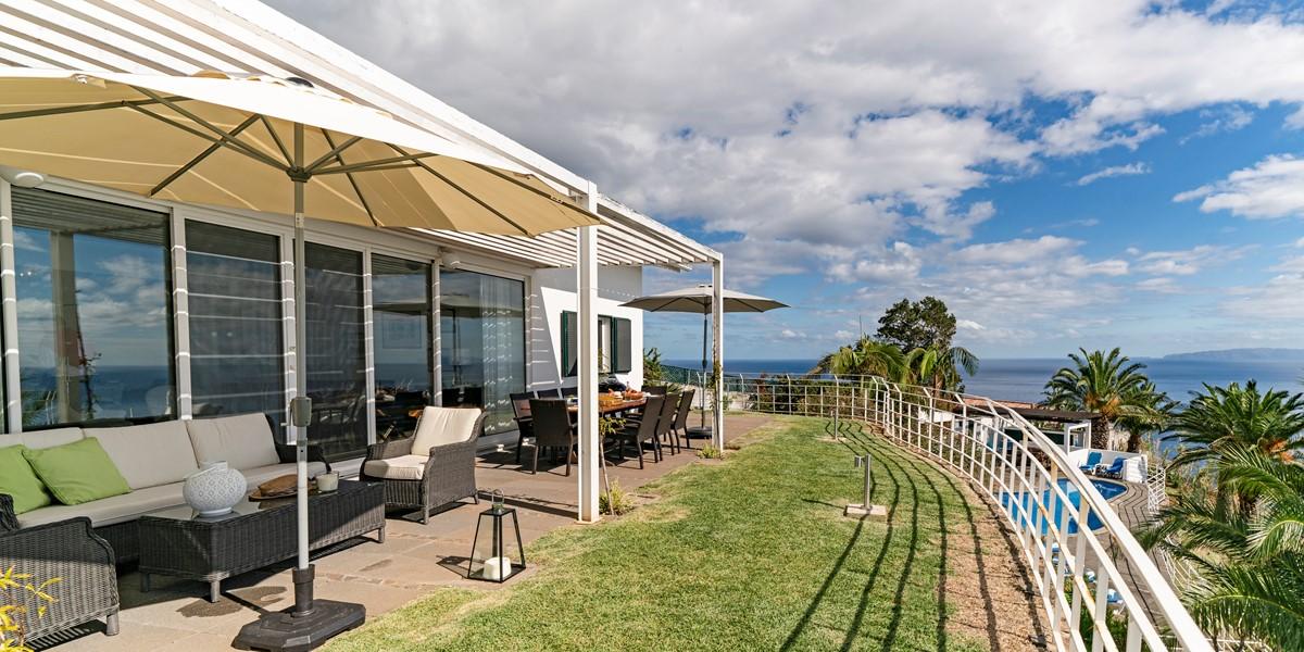 6 Our Madeira Villa Da Falesia Balcony