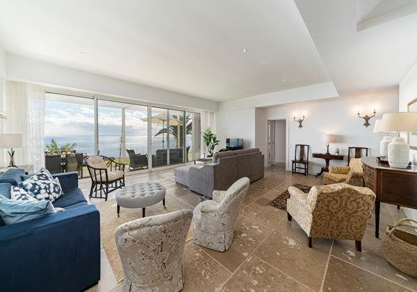7 Our Madeira Villa Da Falesia Living Room