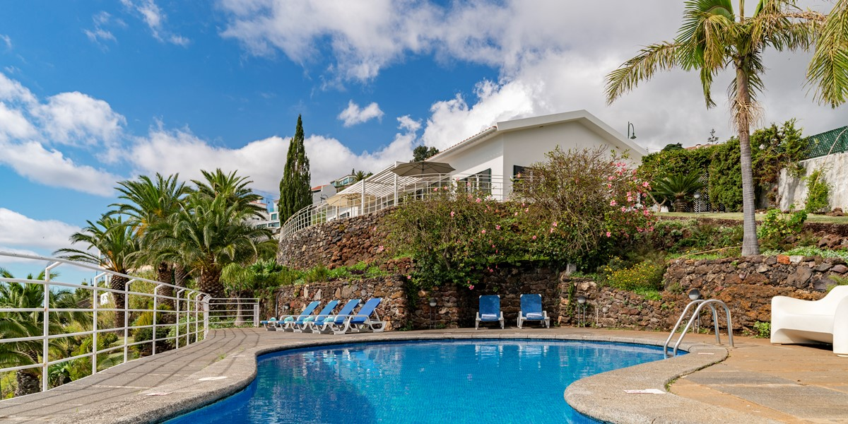 19 Our Madeira Falesia Pool And House