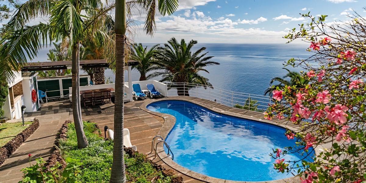 20 Our Madeira Villa Da Falesia Pool
