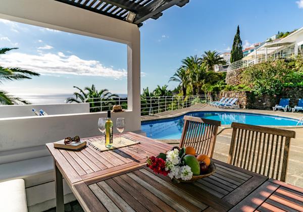 21 Our Madeira Villa Da Falesia Pool Area