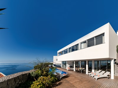 Luxury clifftop villa, panoramic seaview, A/C | Fonte Do Mar 1