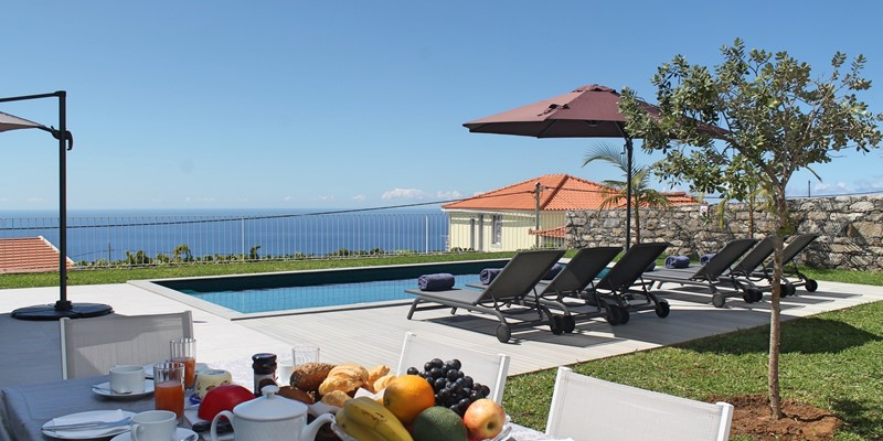 Our Madeira Villas in Madeira with Seaview - Calheta Heights