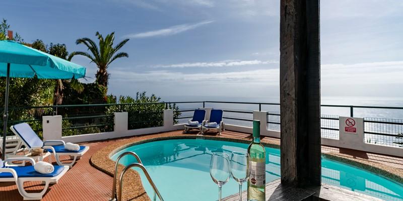 2 Our Madeira Villas in Madeira with SeaView Villa Aquarela