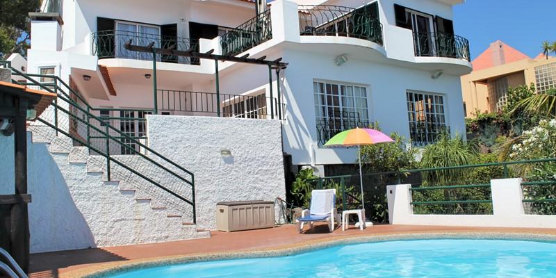 Our Madeira Villas in Madeira with pool Villa Aquarela Exterior