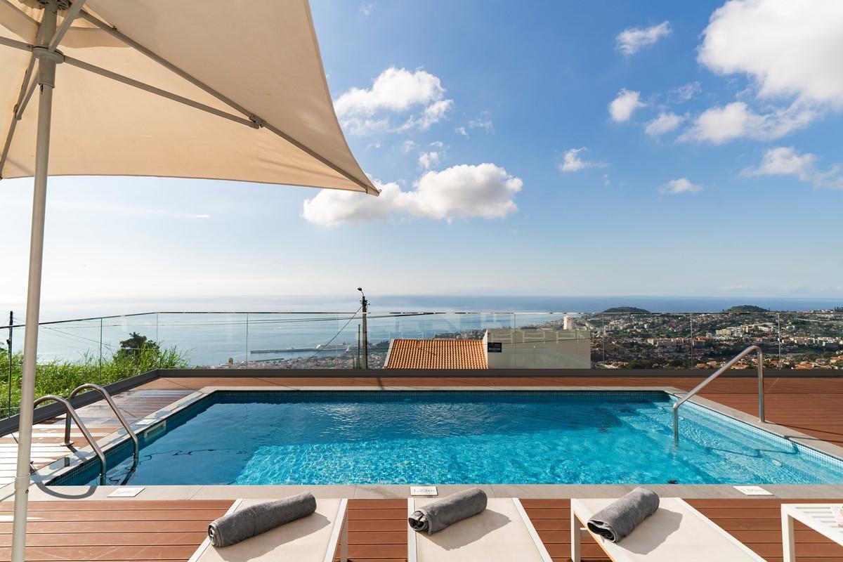 2 Our Madeira Vila Da Portada Pool And View