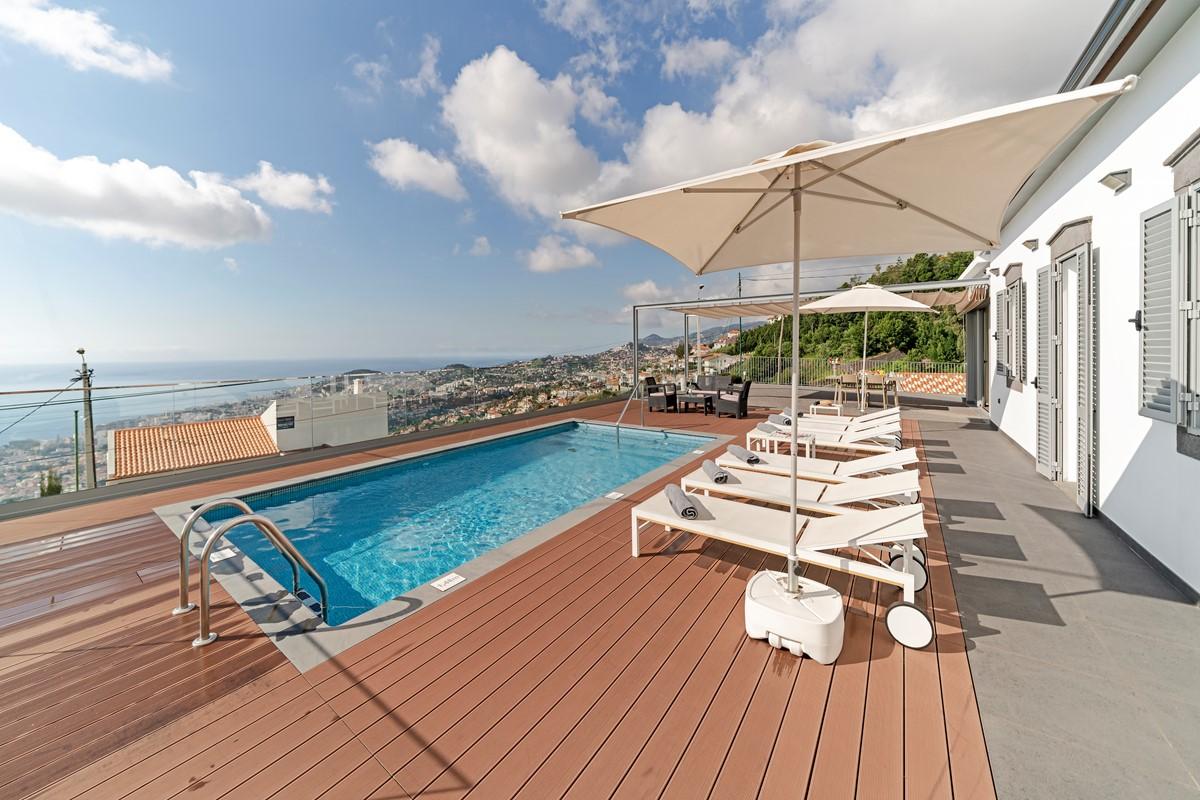 5 Our Madeira Vila Da Portada Pool And View