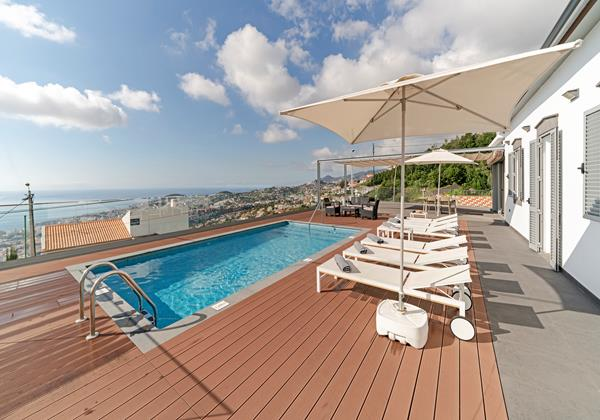 Our Madeira - Villas in Madeira with Heated Pool - Vila Da Portada Pool