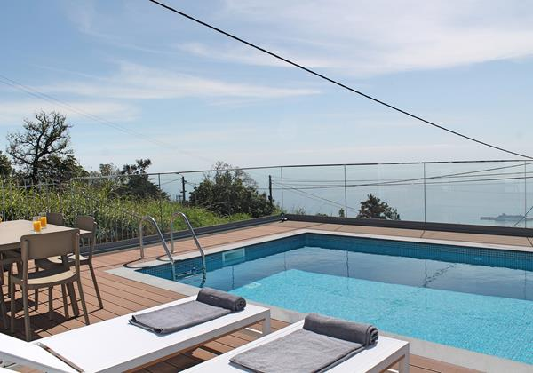 Our Madeira - Villas in Funchal Madeira - Vila Da Portada Pool
