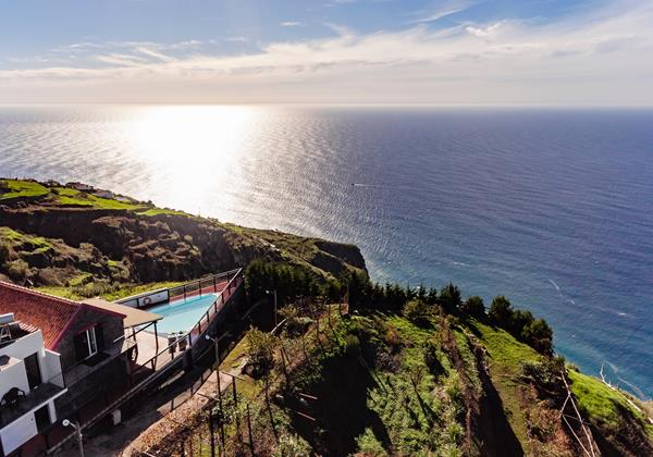 Our Madeira - Secluded Villas in Madeira - Top Of The Cliff